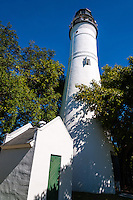 US, Florida, Key West. Key West Lighthouse.