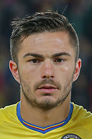 CLUJ-NAPOCA, ROMANIA, MARCH 26: Romania's national soccer player Alin Tosca pictured before the 2018 FIFA World Cup qualifier soccer game between Romania and Denmark, on March 26, at Cluj Arena Stadium, in Cluj-Napoca, Romania. (Photo by Mircea Rosca/Getty Images)