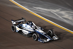 April 6, 2018 - Phoenix, AZ, U.S. - PHOENIX, AZ - APRIL 07: Driver Max Chilton comes through turn one after finishing in eighteenth (18) in the Verizon IndyCar Series Desert Diamond West Valley Casino Phoenix Grand Prix on April 7, 2018, at ISM Raceway in Phoenix, AZ. (Photo by Grant Exline/Icon Sportswire) (Credit Image: © Grant Exline/Icon SMI via ZUMA Press)