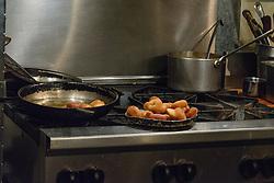 RSVP Restaurant West Cornwall CT. Kitchen and Food. Doughnuts for Dessert