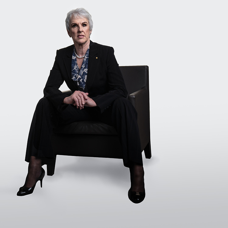 Diane Smith-Gander AO at the Wesfarmers offices in Perth, Western Australia October 23, 2020.