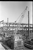 1963 - Hydrocon Highlander Crane at work at Whitehall, Dublin