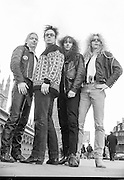 London. Great Britain.  <br /> <br /> 12.1988. Midnights Promotions. Valhalla, PR and Live Show. Marquee London, <br /> <br /> [Mandatory Credit, Peter Spurrier/ Intersport Images].<br /> <br /> Marquee Club, Oxford Street, London Savoy Hotel, Slo Moe's, Ealing, Ultimate Performance Ealing, Westminster<br /> Bridge. 1988 Midnight PromotionValhalla,  Live Show. Marquee London,