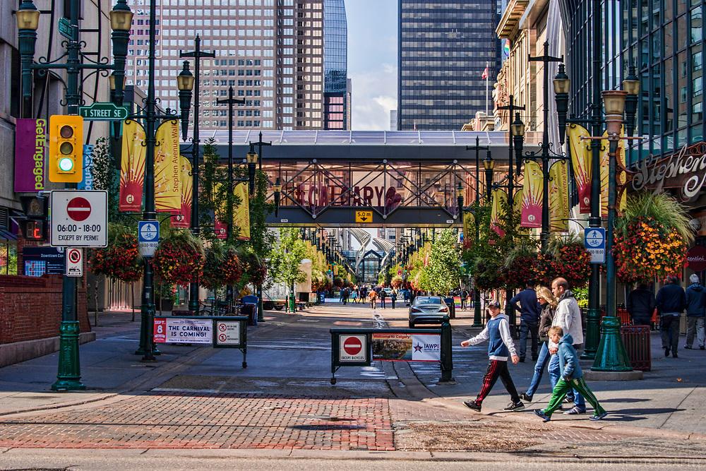 Stephen Avenue Walk & First Street SE