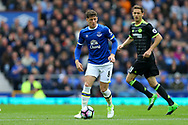 Ross Barkley of Everton in action. Premier league match, Everton v Chelsea at Goodison Park in Liverpool, Merseyside on Sunday 30th April 2017.<br /> pic by Chris Stading, Andrew Orchard sports photography.