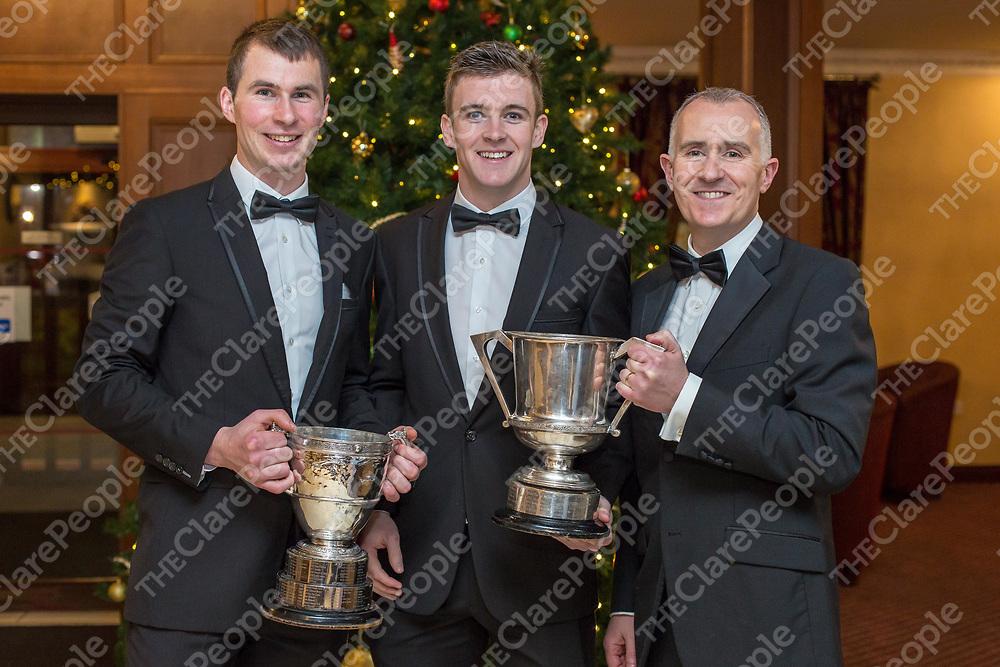 Ballyea's Brian Murphy, Tony Kelly and Pat Moylan