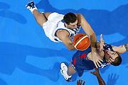 DESCRIZIONE : Belgrado Belgrade Eurobasket Men 2005 Francia Grecia<br /> GIOCATORE : Ntikoudis<br /> SQUADRA : Grecia Greece<br /> EVENTO : Eurobasket Men 2005 Campionati Europei Uomini 2005<br /> GARA : Francia Grecia France Greece<br /> DATA : 24/09/2005<br /> CATEGORIA :<br /> SPORT : Pallacanestro<br /> AUTORE : Ciamillo&Castoria/Fiba Europe Pool