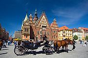 Wrocław, 2007-05-01. Wrocławski rynek
