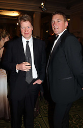 Left to right, EARL SPENCER brother of the late Diana, Princess of Wales and SIR MATTHEW PINSENT at the 2005 British Book Awards held at The Grosvenor House Hotel, Park lane, London on 20th April 2005.<br /><br />NON EXCLUSIVE - WORLD RIGHTS