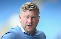 Oxford United manager Karl Robinson <br /> <br /> Photographer Rob Newell/CameraSport<br /> <br /> Sky Bet League One Play-Off Semi-Final 1st Leg - Oxford United v Blackpool - Tuesday 18th May 2021 - Kassam Stadium - Oxford<br /> <br /> World Copyright © 2021 CameraSport. All rights reserved. 43 Linden Ave. Countesthorpe. Leicester. England. LE8 5PG - Tel: +44 (0) 116 277 4147 - admin@camerasport.com - www.camerasport.com