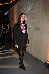 LONDON, ENGLAND 6 DECEMBER 2016: <br /> Linzi Stoppard at the Fabergé Visionnaire DTZ Launch held on the 39th Floor Penthouse, South Bank Tower, Upper Ground, London, England. 6 December 2016.