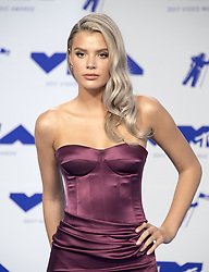 August 27, 2017 - Inglewood, California, U.S - Alissa Violet  arrives at the 2017 MTV Video Music Awards   Photo Room held at The Forum in Inglewood/Los Angeles on Sunday afternoon. (Credit Image: © David Bro via ZUMA Wire)