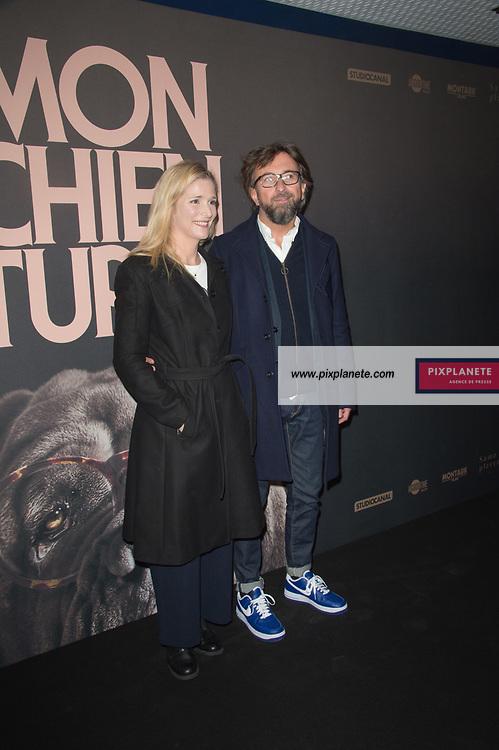 Natacha Regnier et Alex Jaffray Avant première du film Mon chien stupide Mardi 22 Octobre 2019 UGC Normandie Paris