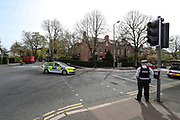 Police evacuated residents in South Belfast on Friday, April 23, 2021 -  after a suspicious object was found. Police said that the object was discovered in the area around Ormeau Golf Club. The club borders Ormeau Park and covers the extensive ground. (Photo/ Vudi Xhymshiti)