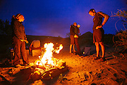 Campfire in Colorado. Lifestyle photography by editorial photographer Nathan Lindstrom