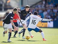 Falkirk's Blair Alston. Kilmarnock 4 v 0 Falkirk, second leg of the Scottish Premiership play-off final.