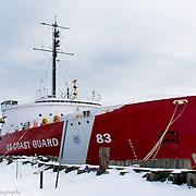 Coast Guard Ice Breaker Mackinaw