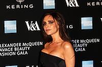 Victoria Beckham, Alexander McQueen: Savage Beauty Fashion Gala, Victoria & Albert Museum, London UK, 12 March 2015, Photo by Richard Goldschmidt