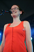 Ingrid Michaelson performs on the fourth day of the 2010 Bonnaroo Music & Arts Festival on June 13, 2010 in Manchester, Tennessee. The four-day music festival features a variety of musical acts, arts and comedians. Photo by Bryan Rinnert/3Sight Photography