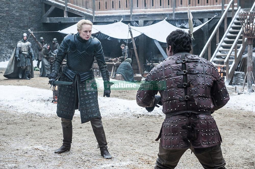 September 1, 2017 - Gwendoline Christie, Daniel Portman..'Game Of Thrones' (Season 7) TV Series - 2017 (Credit Image: © Hbo/Entertainment Pictures via ZUMA Press)