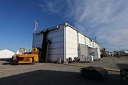 March 23, 2019 - France - Installation de la Logistic Center, du Parc d'assistance et du PC Rally HQ du Tour de Corse WRC 2019 (Credit Image: © Panoramic via ZUMA Press)