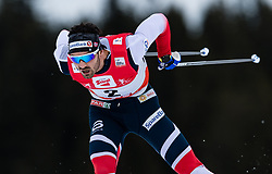 28.01.2018, Seefeld, AUT, FIS Weltcup Langlauf, Seefeld, FIS Weltcup Langlauf, 15 km Sprint, Herren, im Bild Hans Christer Holund (NOR) // Hans Christer Holund of Norway during men's 15 km sprint of the FIS cross country world cup in Seefeld, Austria on 2018/01/28. EXPA Pictures © 2018, PhotoCredit: EXPA/ Stefan Adelsberger
