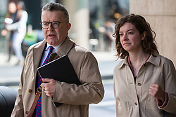 London, UK. 30th April 2019. Tom Watson, Deputy Leader of the Labour Party, arrives for a Labour Party NEC meeting to confirm plans for Labour's EU election manifesto, including its stance with regard to a second referendum.