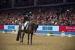 Zu Sayn - Wittgenstein Nathalie (DEN) - Digby<br /> Reem Acra FEI World Cup Dressage <br /> London International Horse Show Olympia 2013<br /> © Hippo Foto - Jon Stroud