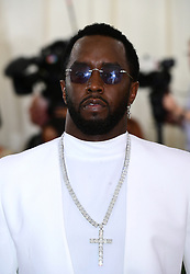 Sean Combs attending the Metropolitan Museum of Art Costume Institute Benefit Gala 2018 in New York, USA.