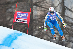 20.01.2011, Tofana, Cortina d Ampezzo, ITA, FIS World Cup Ski Alpin, Lady, Cortina, Abfahrt 2. Training, im Bild Jessica Lindell-Vikarby (SWE, #38) // Jessica Lindell-Vikarby (SWE) during FIS Ski Worldcup ladies downhill second training at pista Tofana in Cortina d Ampezzo, Italy on 20/1/2011. EXPA Pictures © 2011, PhotoCredit: EXPA/ J. Groder