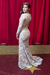 © Licensed to London News Pictures . 16/05/2015 .  The Palace Hotel , Manchester , UK . NIKKI SANDERSON . The red carpet at the 2015 British Soap Awards , The Palace Hotel , Oxford Road , Manchester . Photo credit : Joel Goodman/LNP
