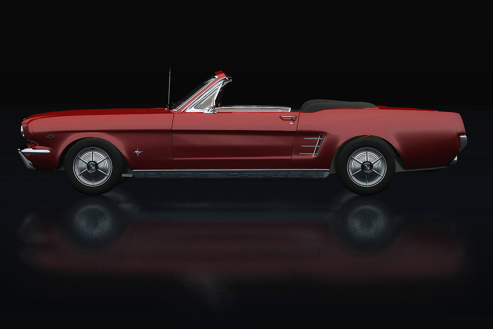 this Ford Mustang Convertible from 1964 is pure nostalgia. A powerful engine makes this Ford Mustang roar and with an open roof it's fantastic touring around with this 1964 Ford Mustang Convertible.<br /> <br /> This painting of a Ford Mustang Convertible from 1964 can be printed very large on different materials. -<br /> BUY THIS PRINT AT<br /> <br /> FINE ART AMERICA<br /> ENGLISH<br /> https://janke.pixels.com/featured/ford-mustang-convertible-lateral-view-jan-keteleer.html<br /> <br /> WADM / OH MY PRINTS<br /> DUTCH / FRENCH / GERMAN<br /> https://www.werkaandemuur.nl/nl/shopwerk/Ford-Mustang-Cabriolet-Zijaanzicht/738419/132?mediumId=11&size=75x50<br /> <br /> -