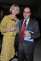SIR MERRICK & LADY COCKELL at a fundraising party hosted by the Kensington and Chelsea Foundation at The Saatchi Gallery, Kings Road, London on 27th September 2011.