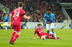 Ainsley Maitland-Niles of Arsenal runs with the ball - Mandatory by-line: Robbie Stephenson/JMP - 23/11/2017 - FOOTBALL - RheinEnergieSTADION - Cologne,  - Cologne v Arsenal - UEFA Europa League Group H