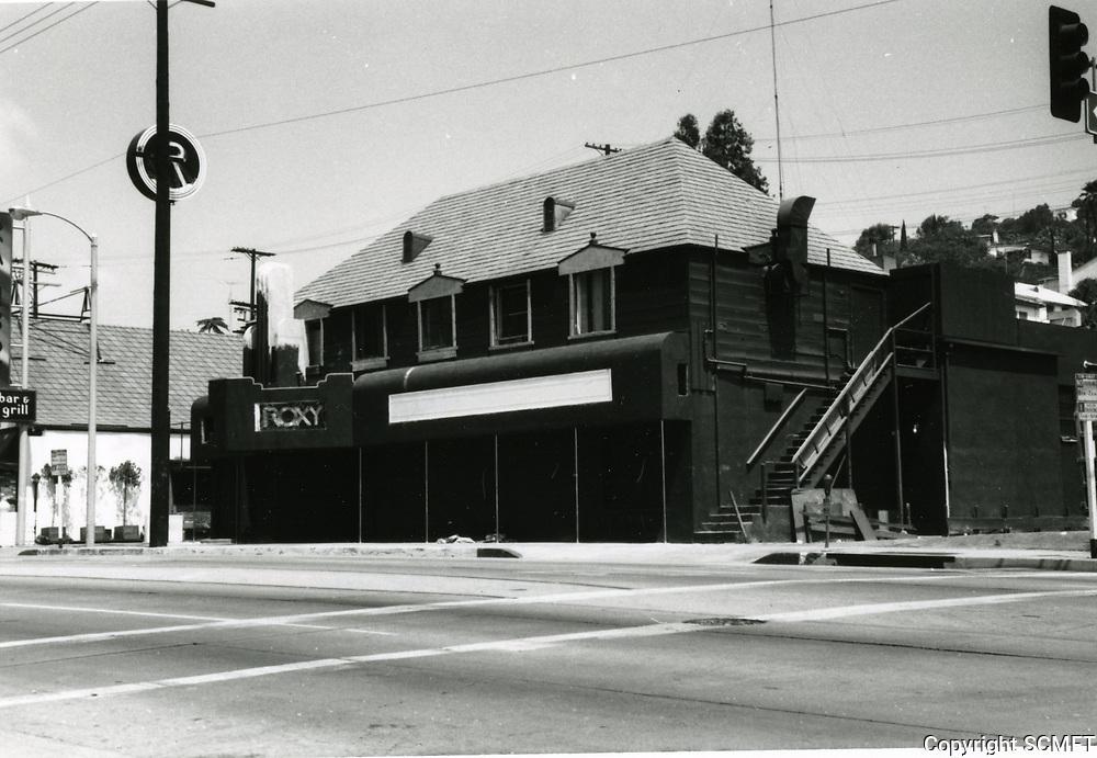 1973 The Roxy on Sunset Blvd.