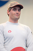 Russel Coutts, Skipper for Alinghi at the Louis Vuitton opening ceremony. 28/9/2002 (© Chris Cameron 2002)