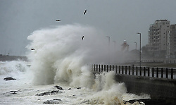 South Africa - Cape Town - 9 July 2020 - Sea Point. The second big storm for July has hit the Cape. Flooding and heavy rains are expected over the Cape Town metropole, Cape winelands, Overberg and the escarpment of the West Coast district from Thursday afternoon into Friday, the SA Weather Service (SAWS) warned on Thursday. . Photographer: Armand Hough/African News Agency(ANA)