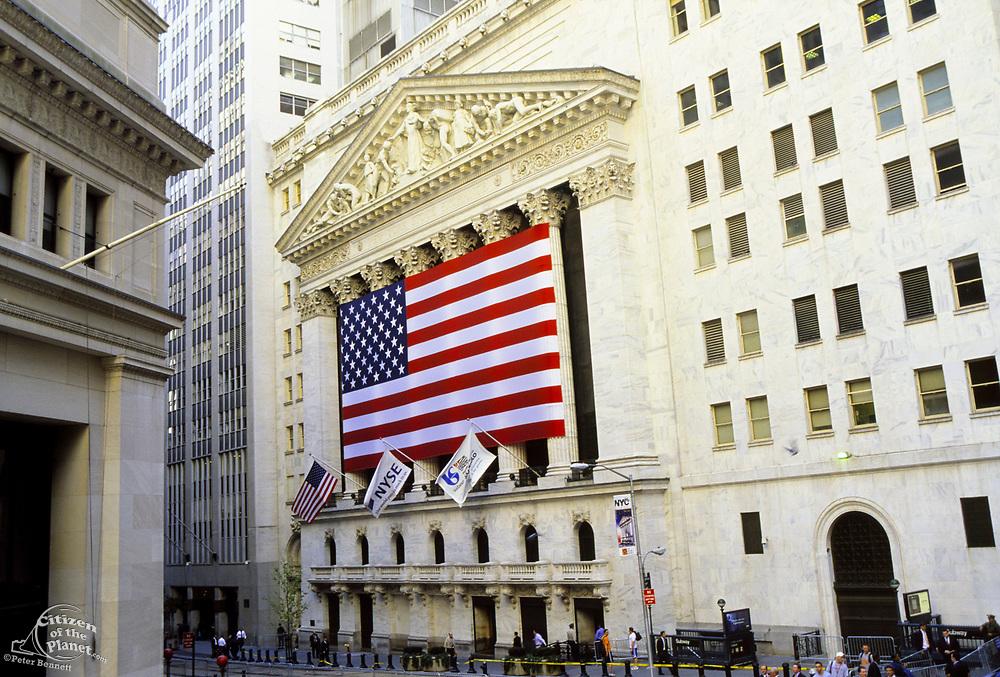 New York Stock Exchange, Broad Street & Wall Street, Manhattan, New York