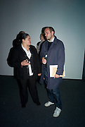 DAWN OGUNBIYI AND NILS NORMAN, Charing Cross: A Graphic Novel By Nils Norman. Book  launch. The Serpentine Gallery, London, W2, 17 March 2008.  Launch of new project exploring homelessness by British artist (Norman) - the result of his residency at organisation for homeless people, The Connection at St Martin-in-the-Fields. *** Local Caption *** -DO NOT ARCHIVE-© Copyright Photograph by Dafydd Jones. 248 Clapham Rd. London SW9 0PZ. Tel 0207 820 0771. www.dafjones.com.