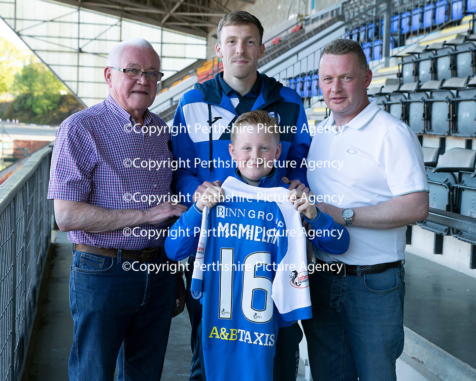 St Johnstone Players Sponsors Night…10.05.18<br />David McMillan<br />Picture by Graeme Hart.<br />Copyright Perthshire Picture Agency<br />Tel: 01738 623350  Mobile: 07990 594431