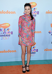 Miranda Cosgrove attends the Nickelodeon's 2017 Kids' Choice Awards at USC Galen Center on March 11, 2017 in Los Angeles, California. Photo by Lionel Hahn/ABACAUSA.COM