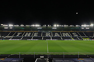 General stadium view during the EFL Sky Bet Championship match between Derby County and Sheffield Wednesday at the Pride Park, Derby, England on 11 December 2019.