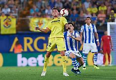 Villarreal CF v Real Sociedad - 18 August 2018