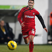 Gaziantepspor's Ismael Sosa during their Turkish superleague soccer match Besiktas between Gaziantepspor at BJK Inonu Stadium in Istanbul Turkey on Tuesday, 05 January 2012. Photo by TURKPIX
