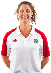 Isobel Freeman of England Rugby 7s - Mandatory by-line: Robbie Stephenson/JMP - 17/09/2019 - RUGBY - The Lansbury - London, England - England Rugby 7s Headshots
