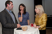 STUART BROWN;  RACHEL MILLWARD; AMANDA NEVILL - BIRDS EYE VIEW INTERNATIONAL WOMEN'S DAY  RECEPTION, BFI Southbank. London. 8 March 2012.