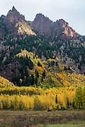 Sievers Mountain in Fall