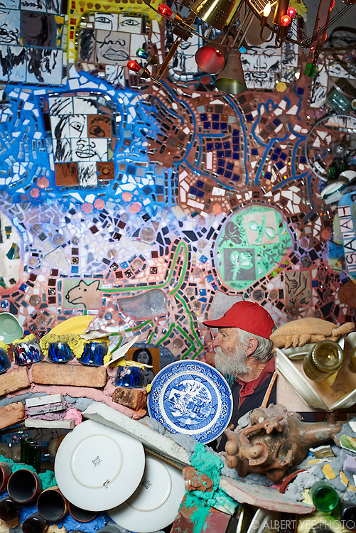 In the studio with Isaiah Zagar's for Troegs Independent Brewing