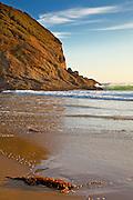 Strands Beach At Sunset