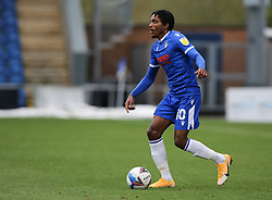 Jevani Brown of Colchester United on the ball - Mandatory by-line: Arron Gent/JMP - 03/10/2020 - FOOTBALL - JobServe Community Stadium - Colchester, England - Colchester United v Oldham Athletic - Sky Bet League Two